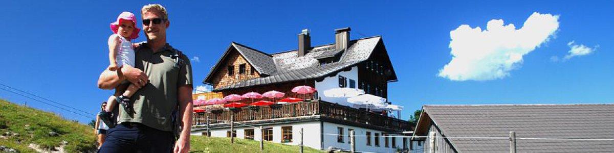 Wanderregion Dachstein West in Gosau: Gablonzerhütte  - © Kraft