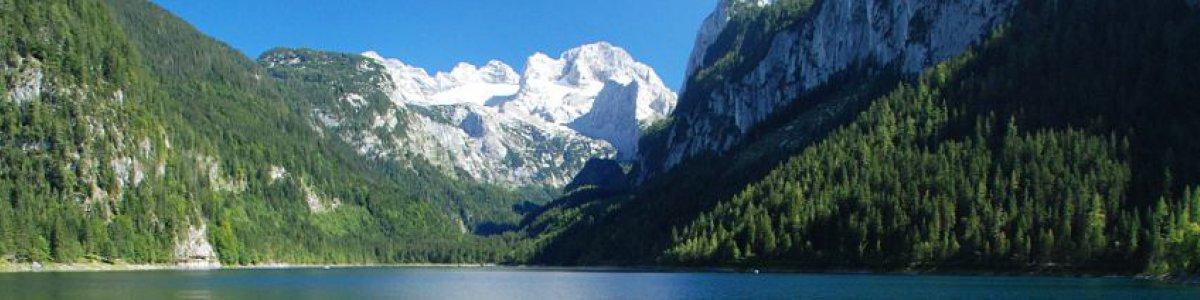 Der Vordere Gosausee mit Dachsteingletscher - © Kraft