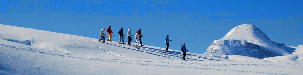 Sicherheitstipps für Schneeschuhwanderer - © Kraft
