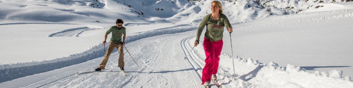 Cross-country ski run on the Gjaidalm in Obertraun - © Gjaidalm