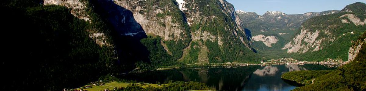 Obertraun on Lake Hallstatt in Austria - © Kraft