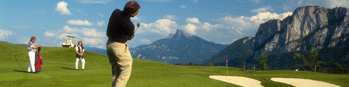 Golfen im Salzkammergut - © OÖ.Tourismus/Wiesenhofer
