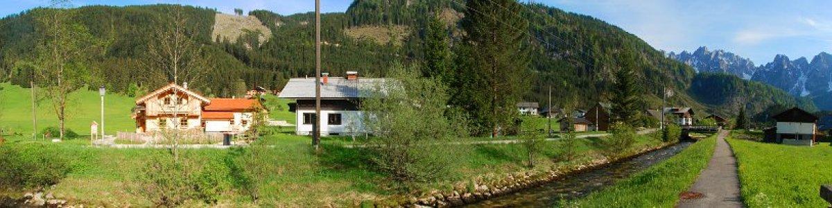 Urlaub in der UNESCO Welterberegion Hallstatt Dachstein Salzkammergut: Ferienhäuser Lederhuber in Gosau - © Kraft