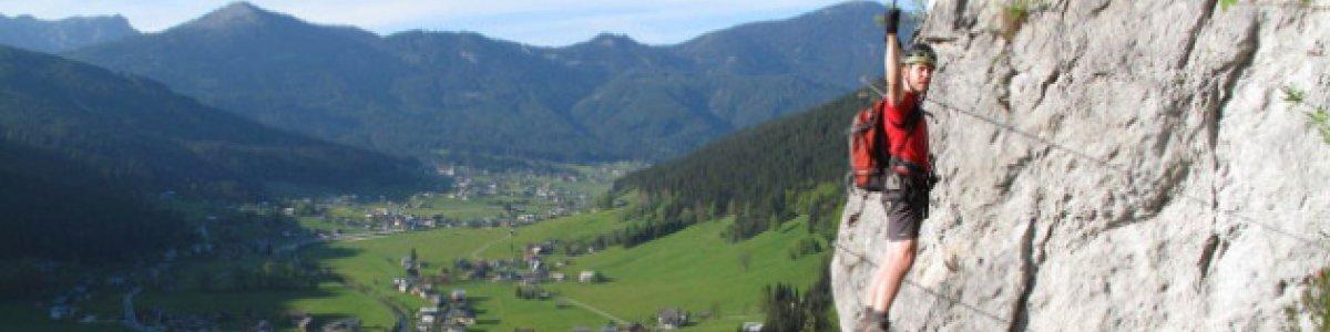 Schmied Klettersteig Gosau - © Alpin Laserer