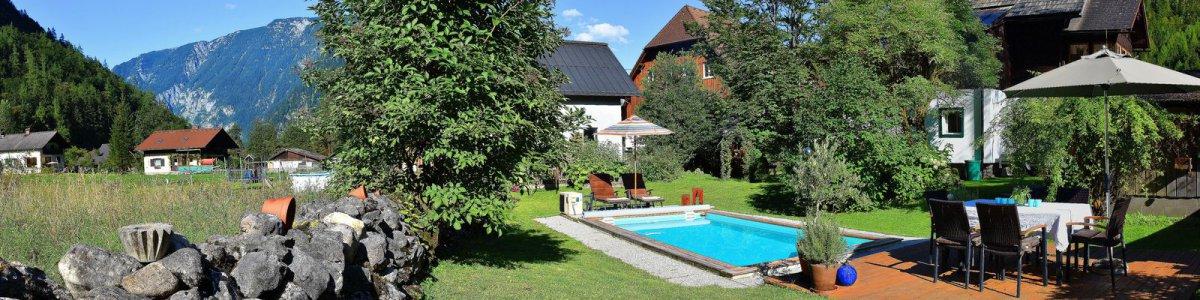 Haus Hemetzberger B&B mit Pool in Hallstatt  - © Kraft