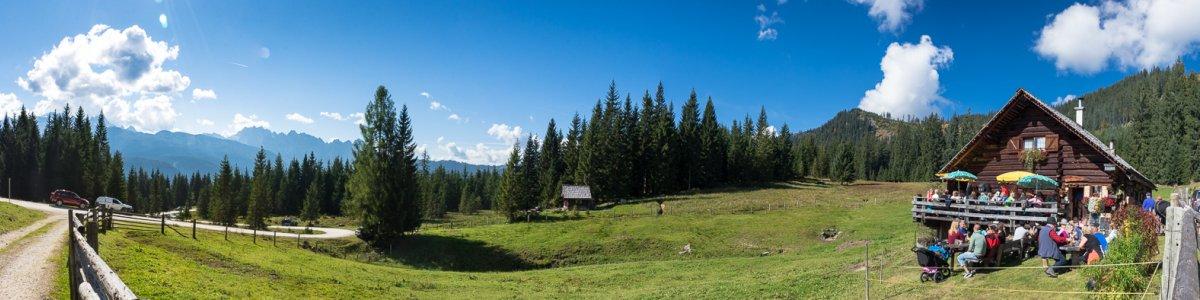 Iglmoosalm-Hütte in Gosau - © Kraft/Krauß