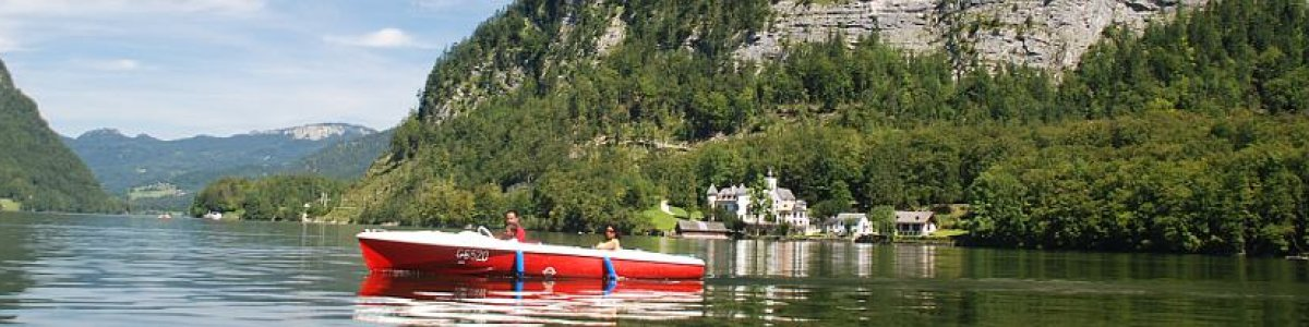Boat rental in Hallstatt and Gosau - © Kraft