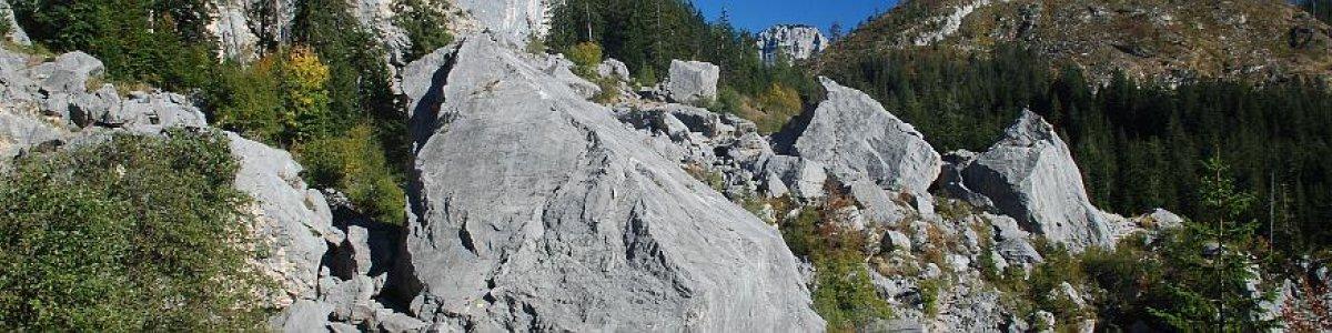 Zwerchwand Steinbruch - © Kraft