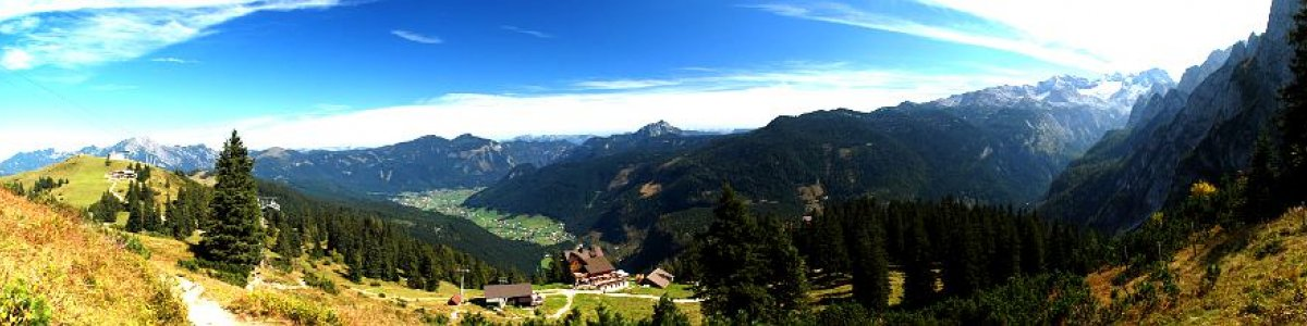 Hiking in Gosau: Discover the Dachstein West Hiking World on the Zwieselalm in Austria - © Kraft