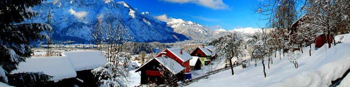 Winter im Salzkammergut: Bad Goisern am Hallstättersee - © Kraft