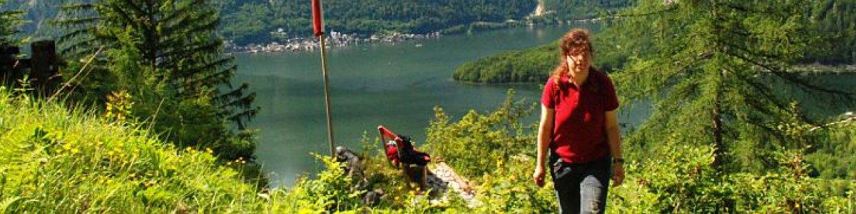Hiking to Mount Schergenkogel in Obertraun at Lake Hallstatt - © Kraft