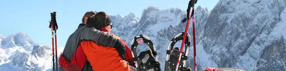 Schneeschuhwandern im Salzkammergut - © OÖ.Tourismus/Röbl