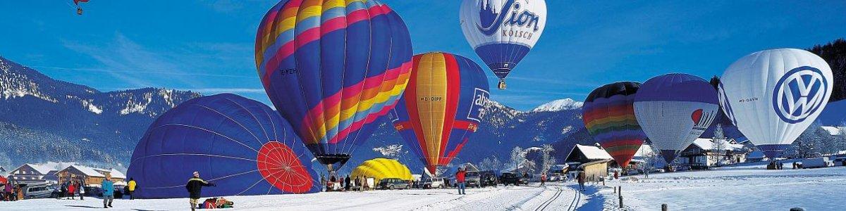Impressionen aus der Welterberegion Hallstatt / Dachstein Salzkammergut: Ballonwoche in Gosau - ©OÖ.Werbung/Heilinger