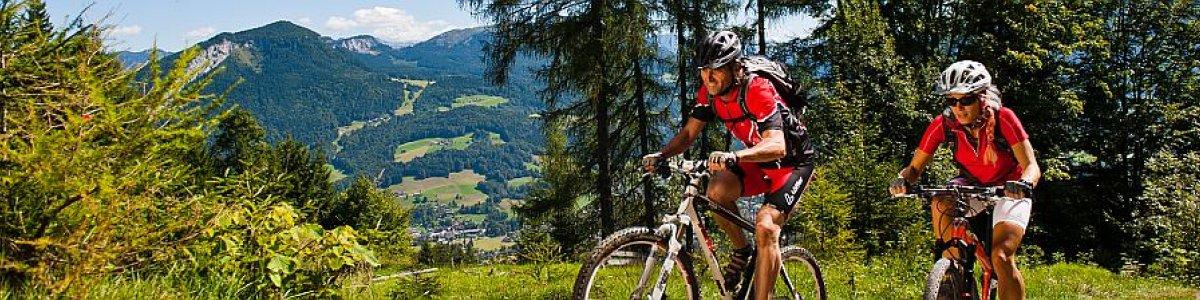 Mountainbikeurlaub in Bad Goisern am Hallstättersee - © OÖ.Tourismus/Erber