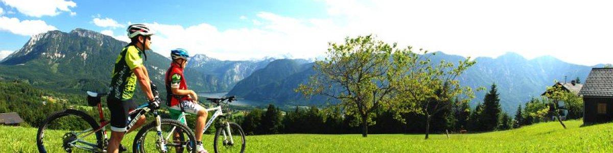 Geführte Mountainbike Tour um den Sarstein - © Kraft