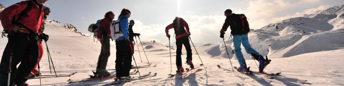 Ski tours by Lake Hallstatt  - © Outdoor Leadership