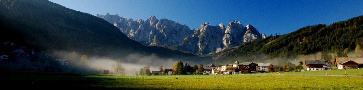 Gosau and the Gosau valley in Austria - © Kraft