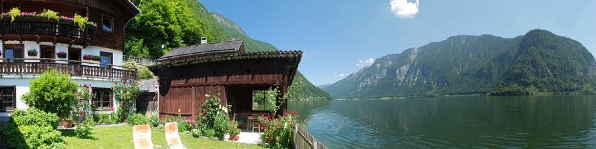 Holiday in Hallstatt in Austria: Guesthouse Wakolbinger-Wieder on Lake Hallstatt - © Kraft
