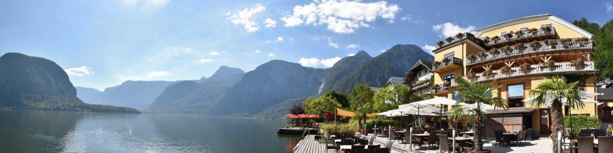 "Hotels in Hallstatt: Lake Side Hotel ""Seehotel Grüner Baum""  - © Kraft"