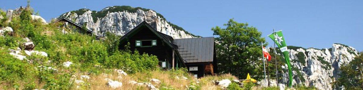 Lambacher Hütte in Bad Goisern am Hallstättersee - © Kraft