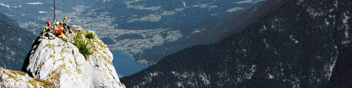 Die schönsten Klettersteige bei Ihrem  Urlaub im Salzkammergut - © Outdoor Leadership