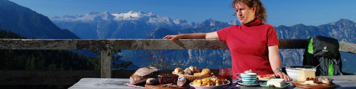 Lust auf Landleben? Almfrühstück im Welterbe - © Kraft
