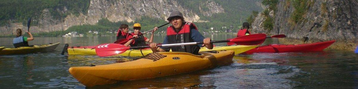 Kayaking and Canoeing on Lake Hallstatt in Austria - © Outdoor Leadership