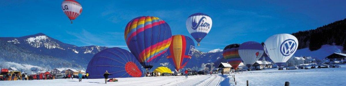 Gosau Balloon Week in Austria - ©OÖ.Werbung-Heilinger