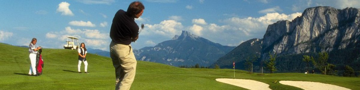 Golf in the Salzkammergut - © OÖ.Tourismus/Wiesenhofer
