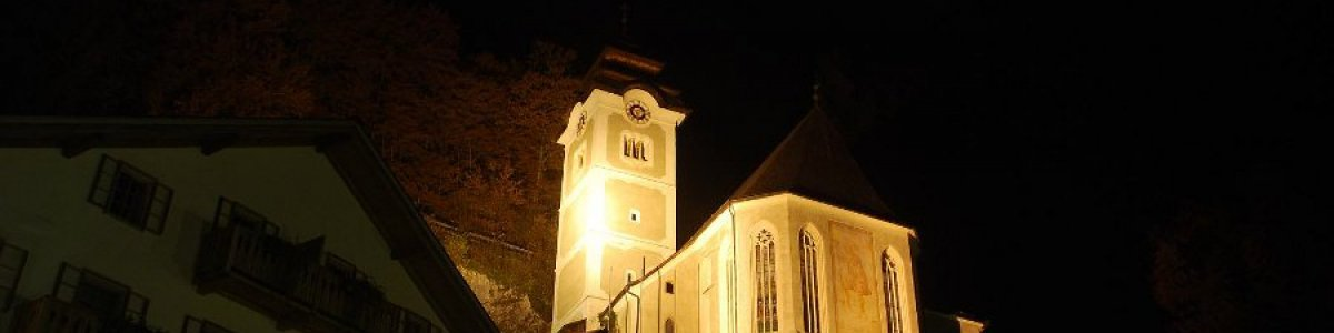 kath kirche hallstatt nacht - © Torsten Kraft