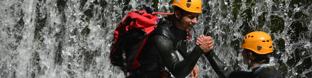 Canyoning im Salzkammergut - © Outdoor Leadership