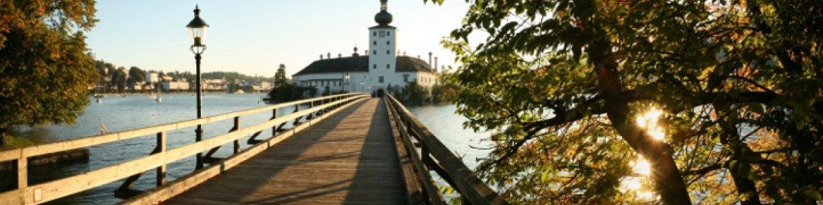 Ausflugstipps im Salzkammergut: Schloss Ort am Traunsee - ©OÖ.Tourismus/Röbl