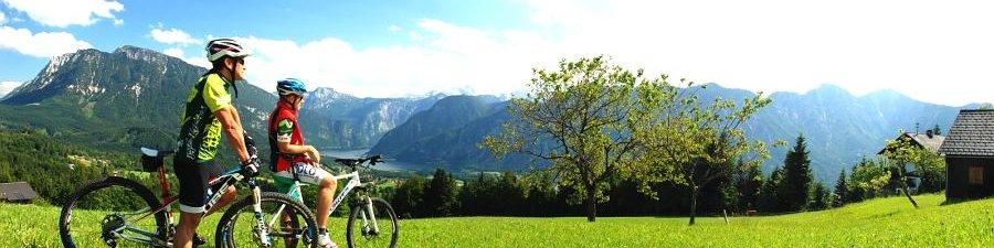 Mit dem Rad das Welterbe entdecken: Mountainbiken in Bad Goisern am Hallstättersee - © Kraft