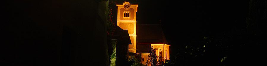 The catholic parish church of Hallstatt - © Kraft