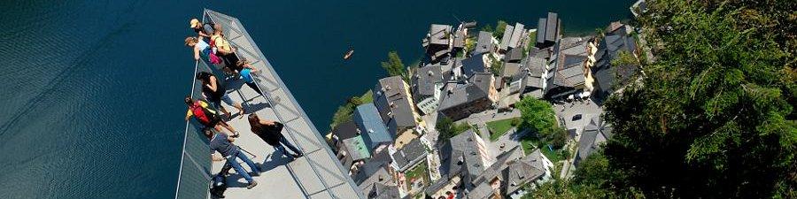 World Heritage View on Mount Salzberg in Hallstatt in Austria - © Kraft
