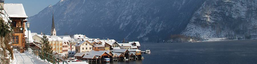 Holiday in austria: Winterholiday in Bad Goisern at Lake Hallstatt - © Kraft