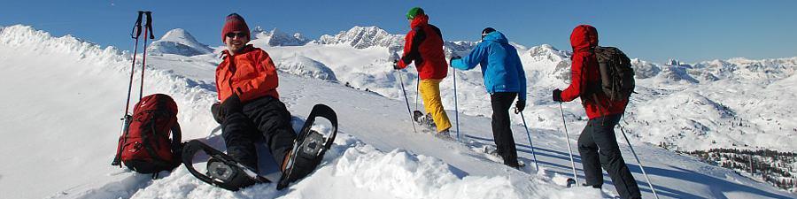 Ostern im Schnee: Schneeschuhwandern auf dem Krippenstein - © Kraft