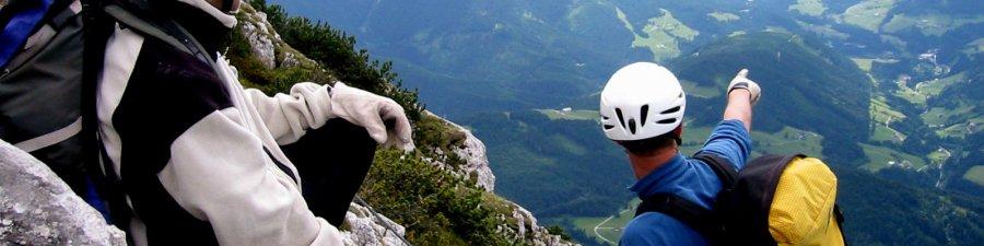 Klettersteige und leichte Genussklettereien im Welterbe -