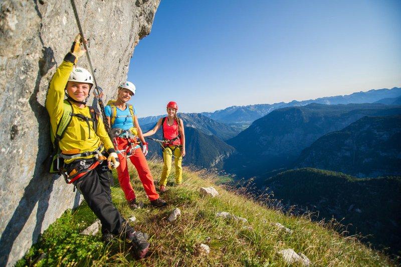 Klettern your holiday in hallstatt austria