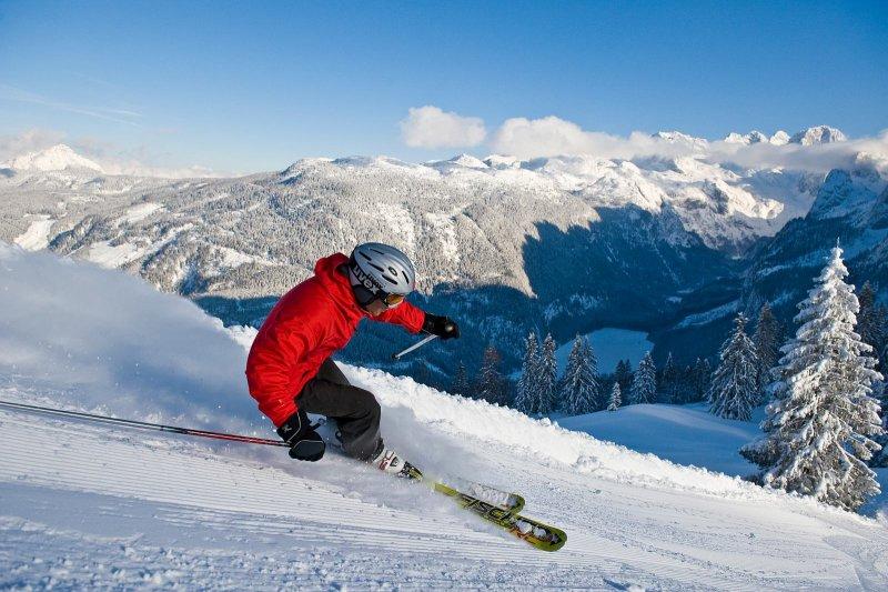 Ski boarden urlaub in hallstatt im salzkammergut