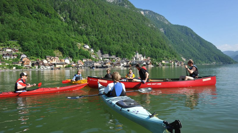 Kayaking and Canoeing » Your holiday in Hallstatt Austria