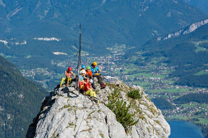 Klettersteig Urlaub : Klettersteig im chiemgau am hausbachfall klettern aktiv
