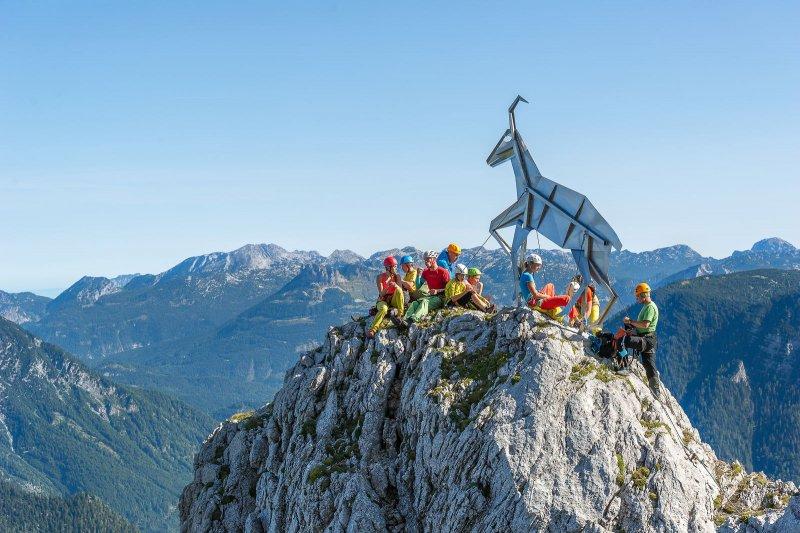 Klettersteig Urlaub : Urlaub in obertraun krippenstein