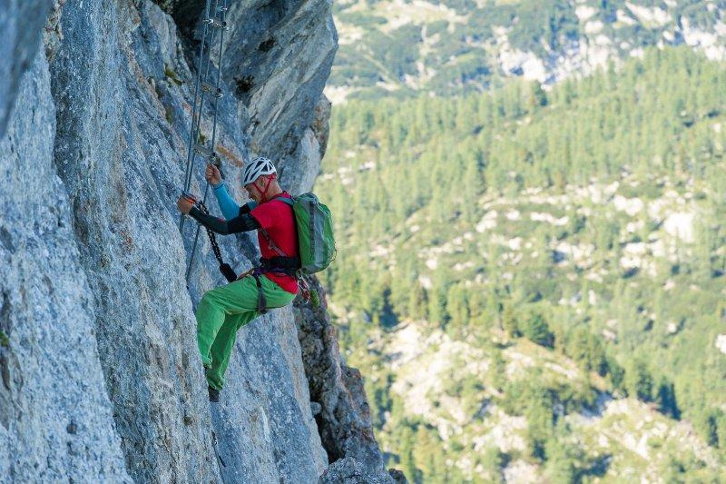 Klettersteig Leopoldsteinersee : Rossloch klettersteig hochblaser hochschwab gbl