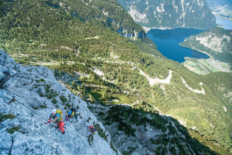 Klettersteig Leopoldsteinersee : Vulkanlandbiker gallery kaiser franz joseph klettersteig