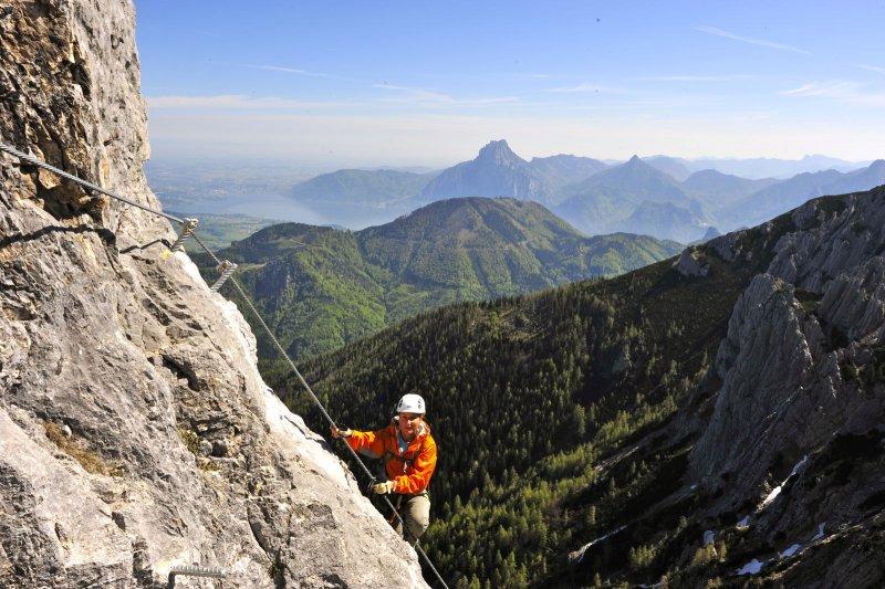 Klettersteig C : Schmied klettersteig c rabenkogel m dachsteingebirge
