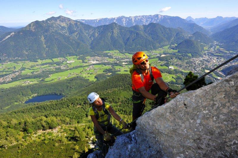 Klettersteig Katrin : Klettersteig camps ideal für einsteiger bei outdoor magazin