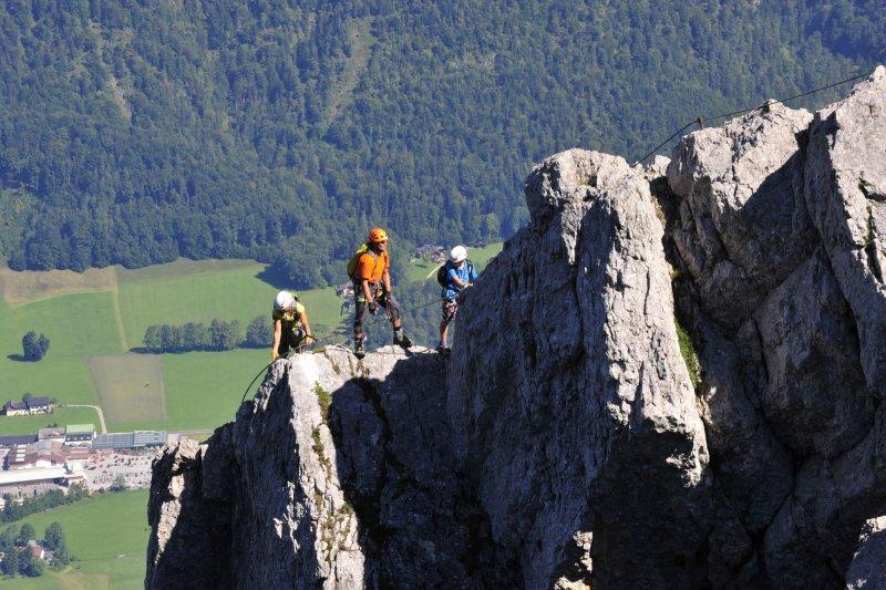 Klettersteig English : Klettersteig mürren paragliding interlaken