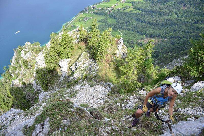 Klettersteig Urlaub : Grandlspitz klettersteig urlaub region hochkönig