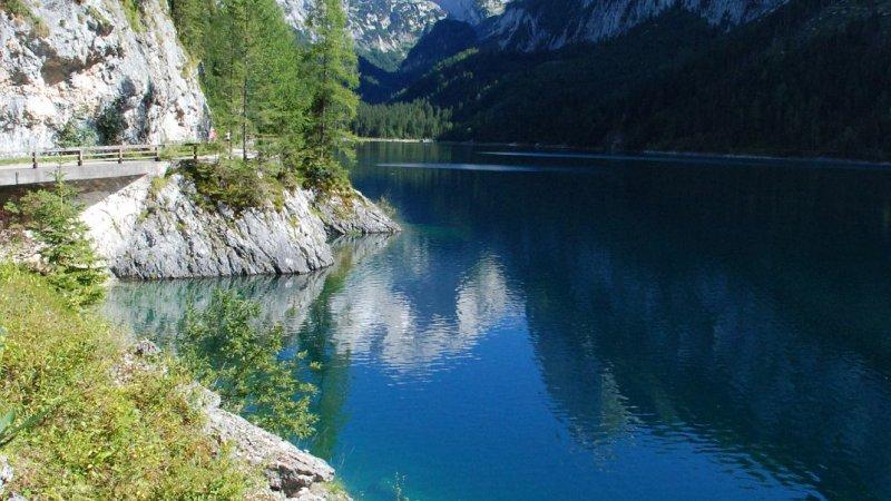 Klettersteig Gosausee : Urlaub in gosau